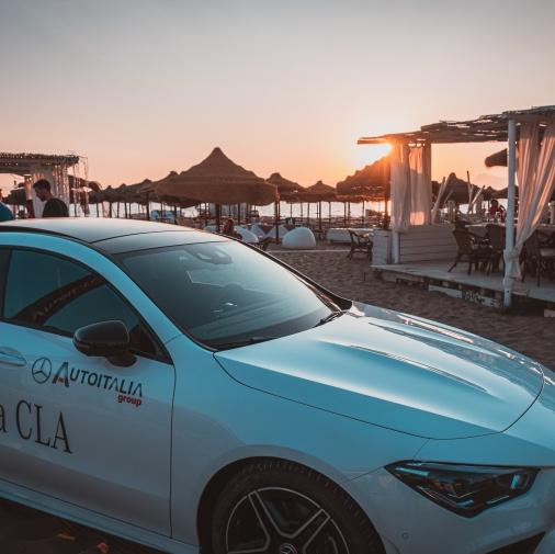Mercedes-Benz CLA --> Summer event for La Siesta Beach