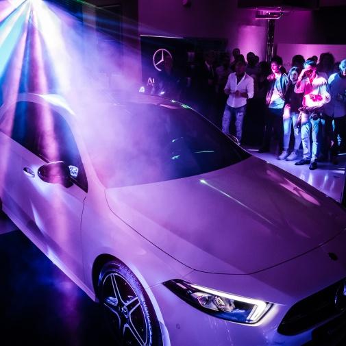 """Auto Italia Group - Concessionaria Ufficiale Mercedes-Benz e Smart """"evento nuova Classe A"""""""