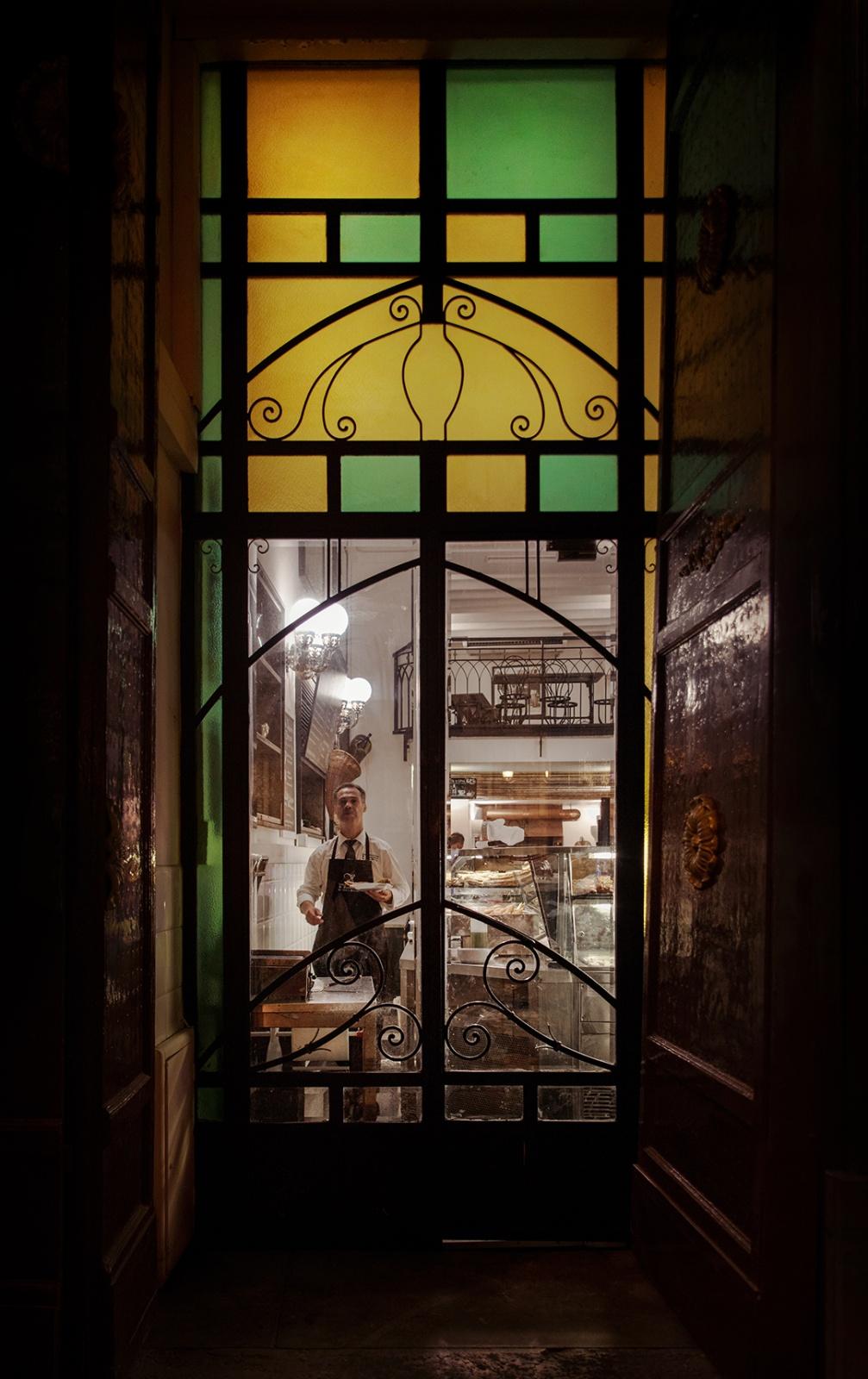 Vetrina Art Nouveau